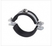 Heavy Duty Pipe Clamp M8 With Rubber